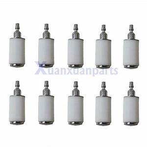10 X Fuel Filter Weedeater Poulan Craftsman Trimmer