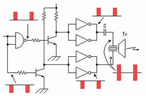 circuit explanation for ultrasonic range meter With sonic range finder schematic