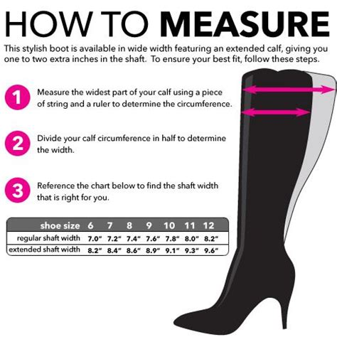 How To Measure for wide calf boots | Glass Slippers ...