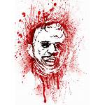 Horror Bloody Leatherface Icons Movies Scary Creepy