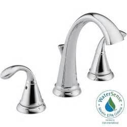 delta widespread bathroom faucet delta zella 8 in widespread 2 handle bathroom faucet in
