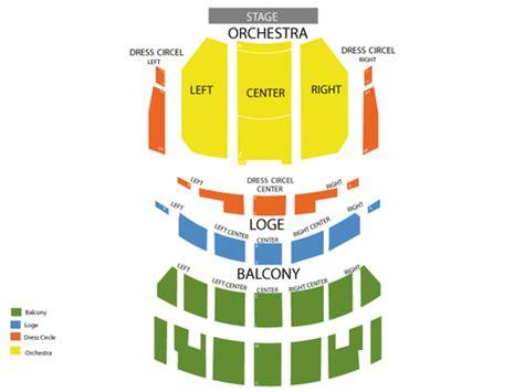 nederlander theatre chicago seating chart   chicago il