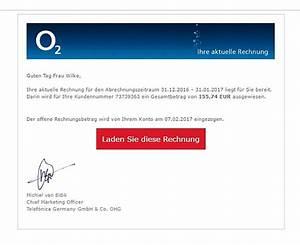 O2 Login Rechnung : ihre aktuelle rechnung von o2 spam internetbetrug und ~ Themetempest.com Abrechnung