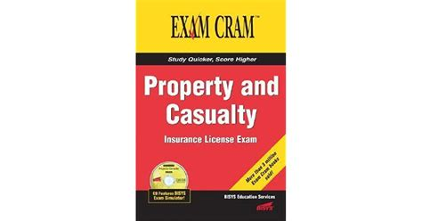 Property and casualty insurance license exam manual, 1st edition, revised ©2010 kaplan, inc. Property and Casualty Insurance License Exam Cram by Bisys Educational Services