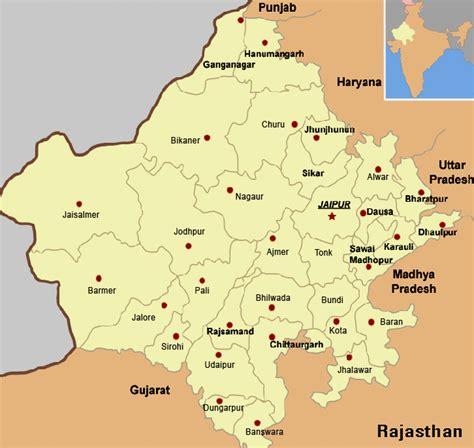 city map  rajasthan