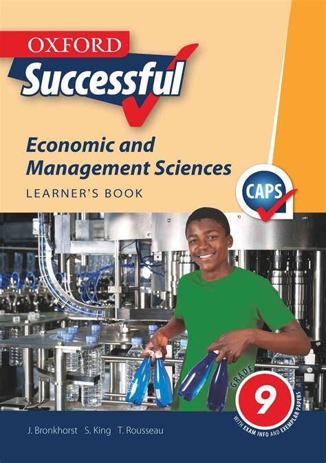 oxford successful economic management sciences grade