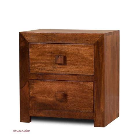 comodini in legno massello comodino etnico legno massello etnico outlet mobili etnici