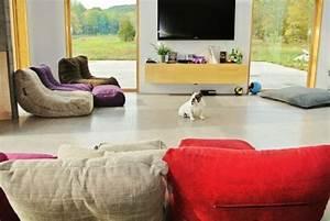 Pouf Pour Salon : fauteuil pouf design pour un int rieur confortable ~ Premium-room.com Idées de Décoration