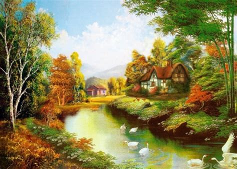 Nature Painting Wallpaper by Beautiful Painting Wallpapers Free Beautiful Desktop Hd