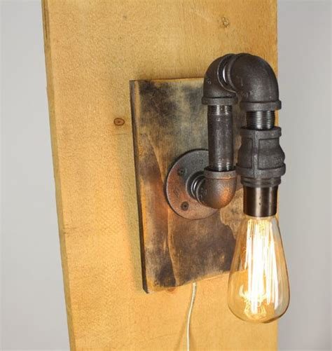 black pipe wall sconce light of awesome home ideas