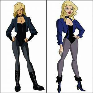 Black Canary (Young Justice vs. Justice League Unlimited ...
