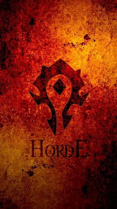 Horde Warcraft Wow Iphone Phone Wallpapers Background