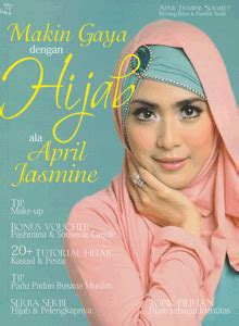 hijab cantik ala april jasmine kawan pustaka