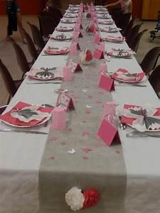 Deco Table Rose Et Gris : chemin de table rose et gris bt05 jornalagora ~ Melissatoandfro.com Idées de Décoration