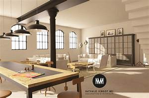 decoration et amenagement de loft provence paca With decoration interieur style industriel