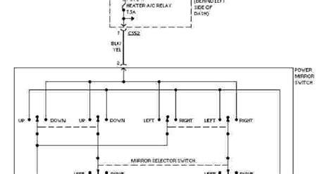 Honda Civic System Wiring Diagrams Power Mirror