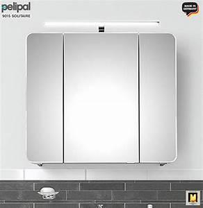 Pelipal Waschtisch 80 Cm : pelipal solitaire 9005 badm bel set 80 cm mit spiegelschrank inkl led aufsatzleuchte duravit ~ Bigdaddyawards.com Haus und Dekorationen