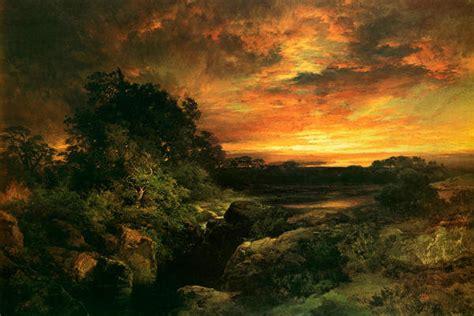 thomas moran arizona sunset   grand canyon art