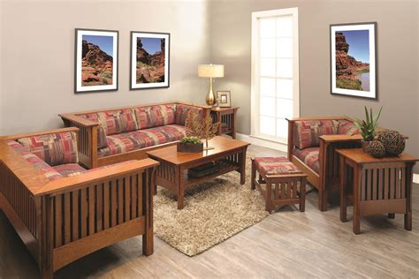 shop   mission prairie living room set