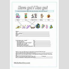 Have Got ,has Got Worksheet  Free Esl Printable Worksheets Made By Teachers Teaching