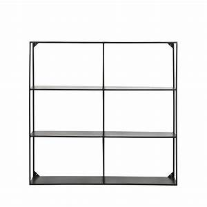 Etagere Murale Suspendue : etag re murale en m tal collection meert by drawer ~ Teatrodelosmanantiales.com Idées de Décoration