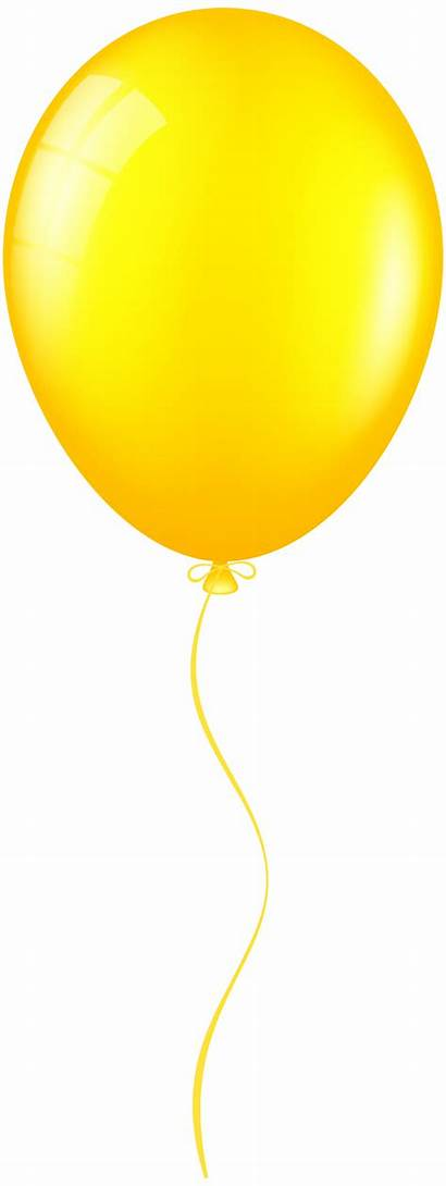 Balloon Clip Yellow Clipart Balloons Clipartpng Transparent