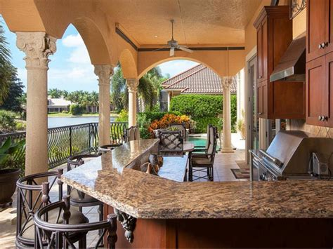 custom outdoor kitchens naples fl estate of the day 4 5 million luxurious estate in naples