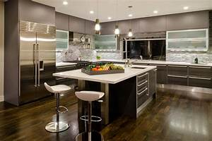 Modern, Kitchen, Cabinets, Offer, A, Streamlined, Look, And, Maximum, Storage