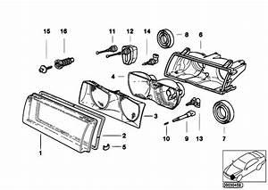 Original Parts For E36 316i 1 9 M43 Compact    Lighting