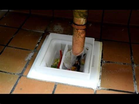 floor sink basket  flange assembly  drain net youtube