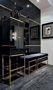 Pin by wuyunhong0625 on Black & Gold | Contemporary living ...