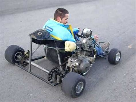 kart casero motor yamaha sr 250 youtube