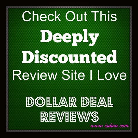 Check Out This Deeply Discounted Review Site I Love