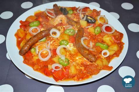 cuisine tunisienne chakchouka recette tunisienne la cuisine tunisienne