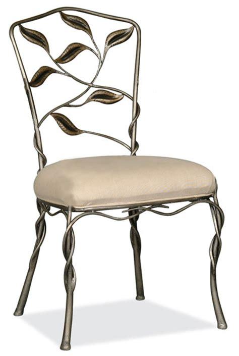chaises en fer forg chaise en fer forge