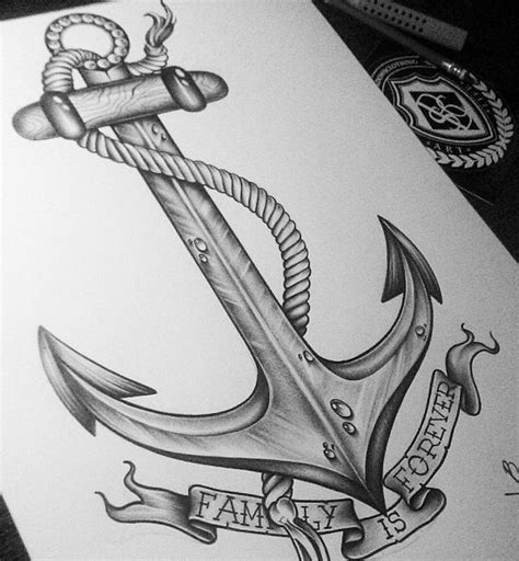 9 Best Images About Family Anchor Tattoos On Pinterest