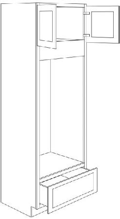 kitchen pantry cabinets for ocd31 596 31 5 wide x 96 oven cabinet 8377