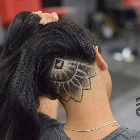 25 Cool Hair Tattoo Designs for Ladies - SheIdeas