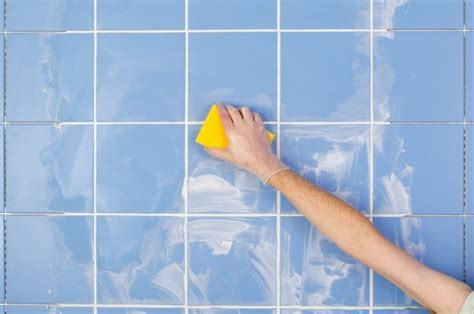 cleaning ceramic tile grout thriftyfun
