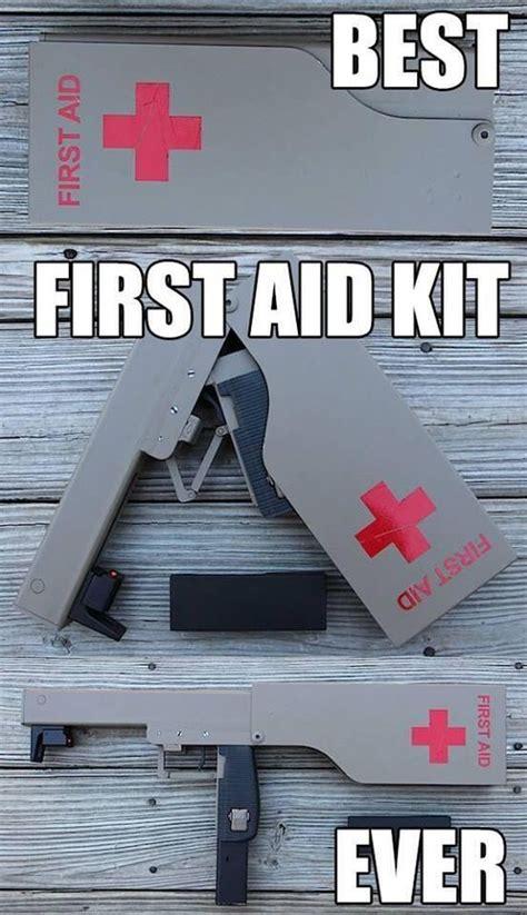 aid kit  military humor