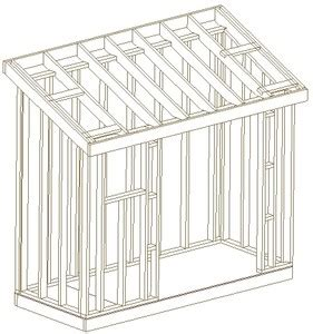 Slant Roof Shed Construction by Tae Gogog 8 X 12 Gambrel Roof Shed Plans