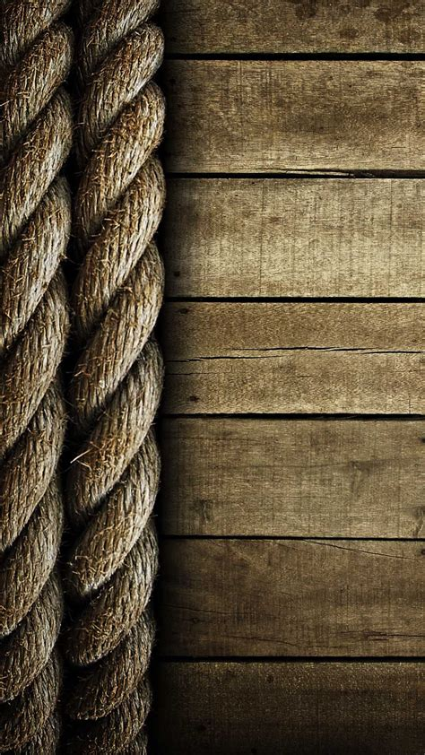 rope  wood lockscreen clean android wallpaper