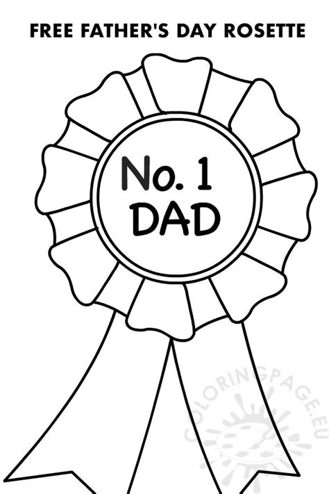 You can use these credit card numbers on a free trial account on certain websites that asks for a credit card, or bypassing the verification processes of some websites which you are not. Number 1 Dad Rosette printable - Coloring Page