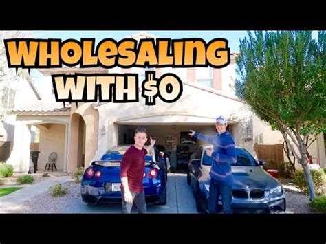 Wholesaling Houses 101 - how to wholesale real estate with 0 money investing 101