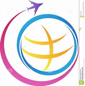 World travel logo stock vector. Image of emblem, colorful ...