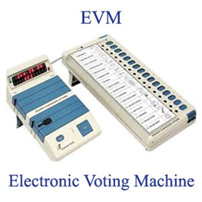 Full Form Of Mla In India by Evm Full Form Javatpoint