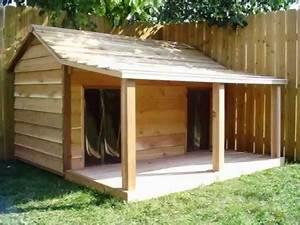 Cabane Pour Chien : les plans de construction de la niche double oncle gustave ~ Melissatoandfro.com Idées de Décoration
