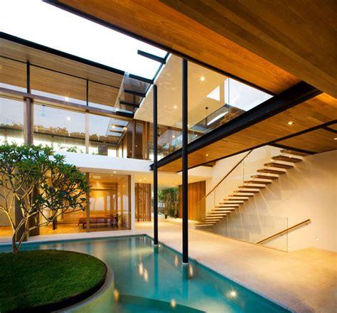 environmentally friendly modern tropical house