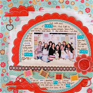 scrapbooking layouts with sew cute With farewell scrapbook template