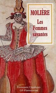 Livre: Les femmes savantes Molière Flammarion Etonnants